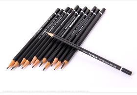 德国LYRA艺雅 素描铅笔伦勃朗绘图画画设计美术专业铁盒套装