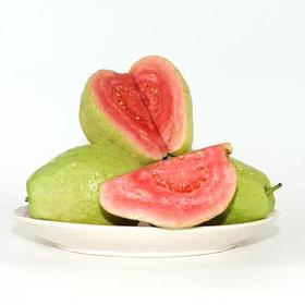 广西红心芭乐番石榴健康低糖水果 硬吃生脆,软吃香甜