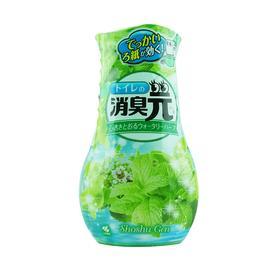 日本小林制药(KOBAYASHI)消臭元卫生间挥发式液体芳香剂(清新薄荷)400ml