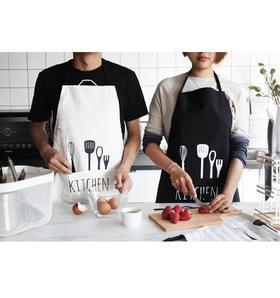 厨房伴侣,第3代新升级面料!防水防污,家居时尚简洁围裙