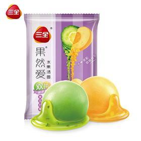 三全速冻果然爱水果汤圆黄瓜柠檬+黄桃大汤圆元宵甜点320g*16只—200880