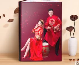 水晶相册制作婚纱照影楼高结婚影集端diy手工个人写真照片书