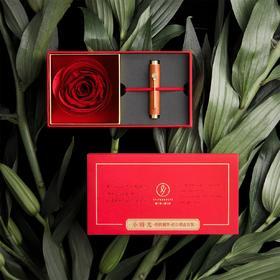 【可以写一辈子的钢笔】便携钢笔花信礼盒 私人订制进口永生花玫瑰爱的纪念