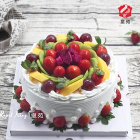 【清新的草莓】完莓主义~新鲜水果蛋糕