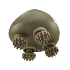 「按摩头部的小怪兽」迷你头皮按摩器 6种按摩手法 | 全身放松可用 | 洗发护发可用 | 小巧便携