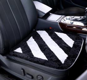 高档羊剪绒汽车/办公坐垫,可水洗—— 柔软、舒适、隔潮、耐用