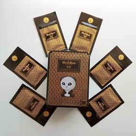 魔盒黑金能量夜间修护眼纹贴 18对装