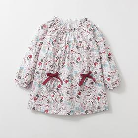 咕噜日记 女童全棉印花连衣裙