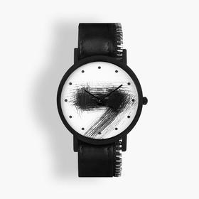 South Lane 暗黑系朋克个性腕表 | 手工划刻拉链单圈表带 3 款(瑞士)