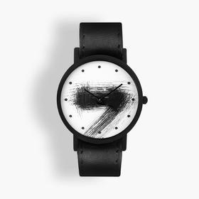 South Lane 暗黑系朋克个性腕表 | 手工划刻单圈表带 3 款(瑞士)