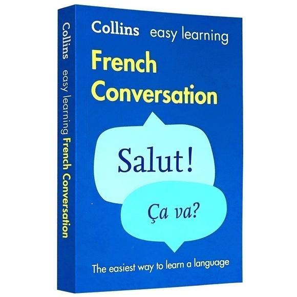 正版collins Easy Learning French Conversation 柯林斯轻松学法语口语
