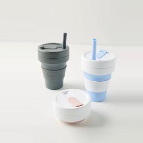 Stojo 美国便携旅行折叠杯 随行杯压缩口袋杯咖啡杯户外环保水杯 ins爆款欧阳娜娜同款