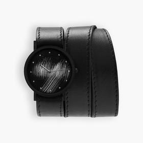 South Lane 暗黑系朋克个性腕表 | 手工划刻多圈表带 3 款(瑞士)