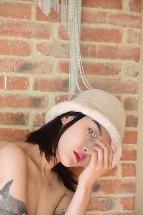 椰蓉绵绵冰帽