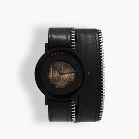South Lane 暗黑系朋克个性腕表 | 手工划刻拉链多圈表带 3 款(瑞士)