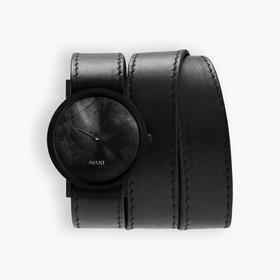 South Lane 暗黑系朋克个性腕表 | 黑色涂鸦多圈表带 2 款(瑞士)