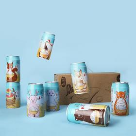 【龙米家】彩色生活小动物款|300g×8罐装丨原价129元,秒杀价88元!!