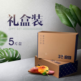【甜】52度良作_CCTV7推荐招牌款生红薯 中果 5斤/份 香甜粉糯地瓜 烤蒸煮都好吃