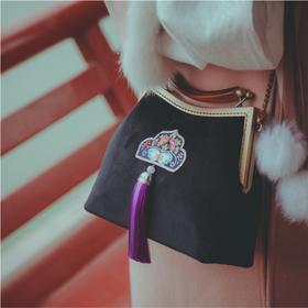 盛锦丨丝绒刺绣包