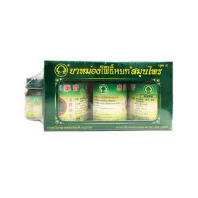 【4罐装】泰国卧佛牌 青草膏 50克/罐 3罐/盒 夏日居家旅行常备好物