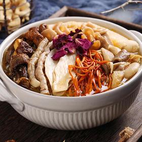 """【一招""""鲜""""吃遍天】玫瑰菌菇汤包 8种新鲜菌菇 即营养又方便  70.5g/盒装"""