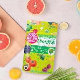 【买二送一】【清肠减脂 塑形纤体】 日本ISDG Diet酵素120粒/袋