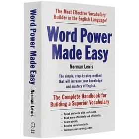 Word Power Made Easy 英文原版书 单词的力量 英文词汇学习工具书 英文版进口英语说文解字 正版词汇书