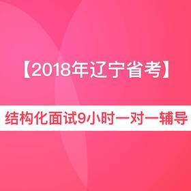 2018年辽宁省公务员面试9小时一对一