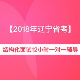 2018年辽宁省公务员面试12小时一对一