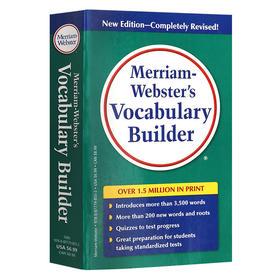 韦氏字根词典英文原版 Vocabulary Builder进口英语正版字典 Merriam Webster's 韦小绿大学书可搭单词的力量word power made