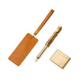 意外设计·便携钢笔│大理石做的口袋笔,提笔书写山河