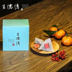 百年品牌王德传 台湾进口 奶糖香 金萱乌龙 10入 便携三角茶包 袋泡茶 30g 包邮