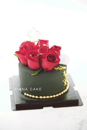 鲜花款 奶油蛋糕