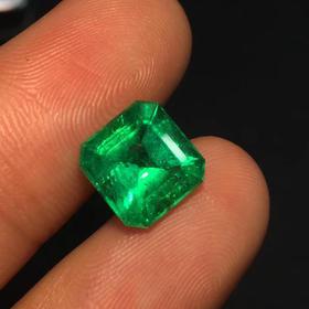 【D9022631】2.65克拉高品质天然哥伦比亚祖母绿
