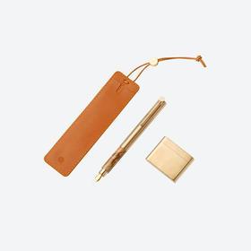意外设计·经典钢笔│大理石、黄铜作笔身,山川之美尽握手中
