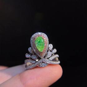 【D9010813】绿钻戒指