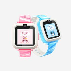 糖猫 搜狗(teemo)儿童智能电话手表M2 4G视频通话 智能问答 学生手表手机 蜜桃粉