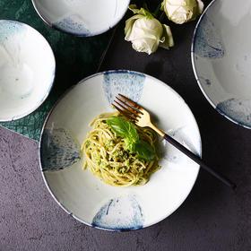 日式创意立体纹 复古陶瓷碗
