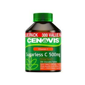 【香港直邮】澳洲Cenovis圣诺维生素C300粒  美白抗感冒