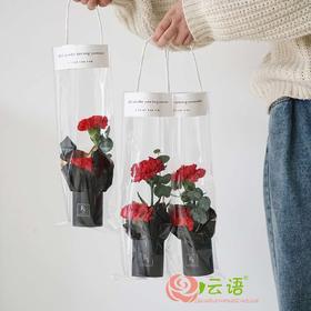 1#{云间鲜花}     手袋花