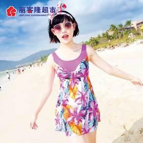 泳衣女装遮肚连体显瘦韩版保守女学生小清新温泉游泳衣