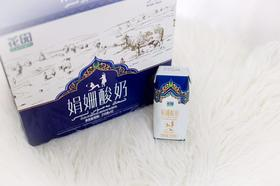 花园 娟姗酸奶200g*12瓶/箱新疆常温风味酸奶 可做酸奶杯