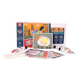 英国MOBEE 莫贝益智玩具 创意手指画/绒布贴画/拓印画/ 点画套装