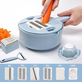 厨房神器多功能切菜神器土豆丝擦切丝神器家用刨丝器水果土豆瓜类切片器