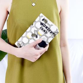 蜜蜂护照包-护照包零钱包手机包
