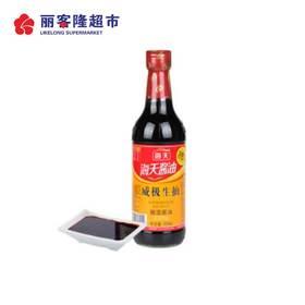 中华老字号 海天 威极生抽 500ml 酿造酱油