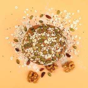 HONlife|好麦多 奇亚籽坚果全麦欧包4个装  热量低40% 松软劲道  膳食纤维27%  代餐优选 现做现发 短保食品 不退不换 介意者慎拍!