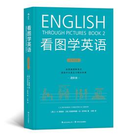 看图学英语 进阶* 简笔连环画图解实用英语自学书籍 由图像理解英文,应对各类社交需求,摆脱中文思维