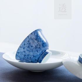景德镇 手绘青花瓷盖碗套装