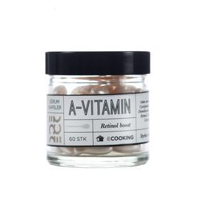 丹麦Ecooking Vitamin A Serum Capsules维他命A醇精华液胶囊20ml/60粒